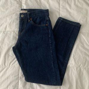 Uniqlo dark wash jeans NWOT